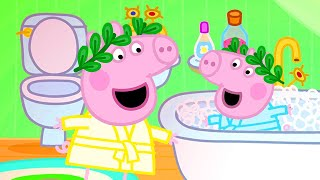 Peppa Pig Official Channel  Peppa Pig Visits Suzy Sheep&#39s Glamping Area