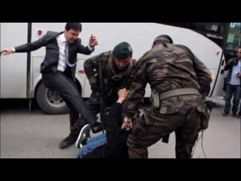 Erdogan aide who kicked protester during Turkish protest fired