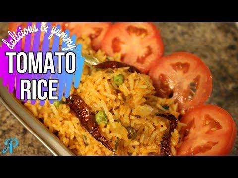 Tomato Rice Recipe | How to make Tomato Rice | Tomato Pulao | टमाटर पुलाव