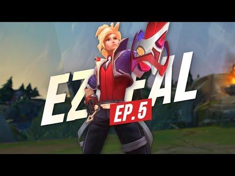 Doublelift - UZI LEVEL EZREAL (EU BOOTCAMP 2019 EP.5)