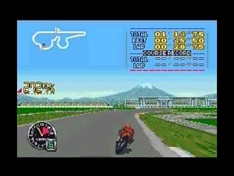 GP-1 RS Rapid Stream 【SFC/SNES】 GP-1 Part II (INTRO - GAMEPLAY - SUPER FAMICOM - ATLUS - 1994)