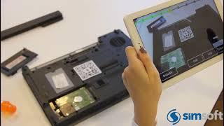Simovate - Artırılmış Gerçeklik ile Bakım Modülü
