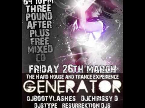 GENERATOR THE HARDHOUSE/TRANCE EXPERIENCE