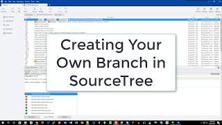 Creating your own Branch using SourceTree (6 of 9)