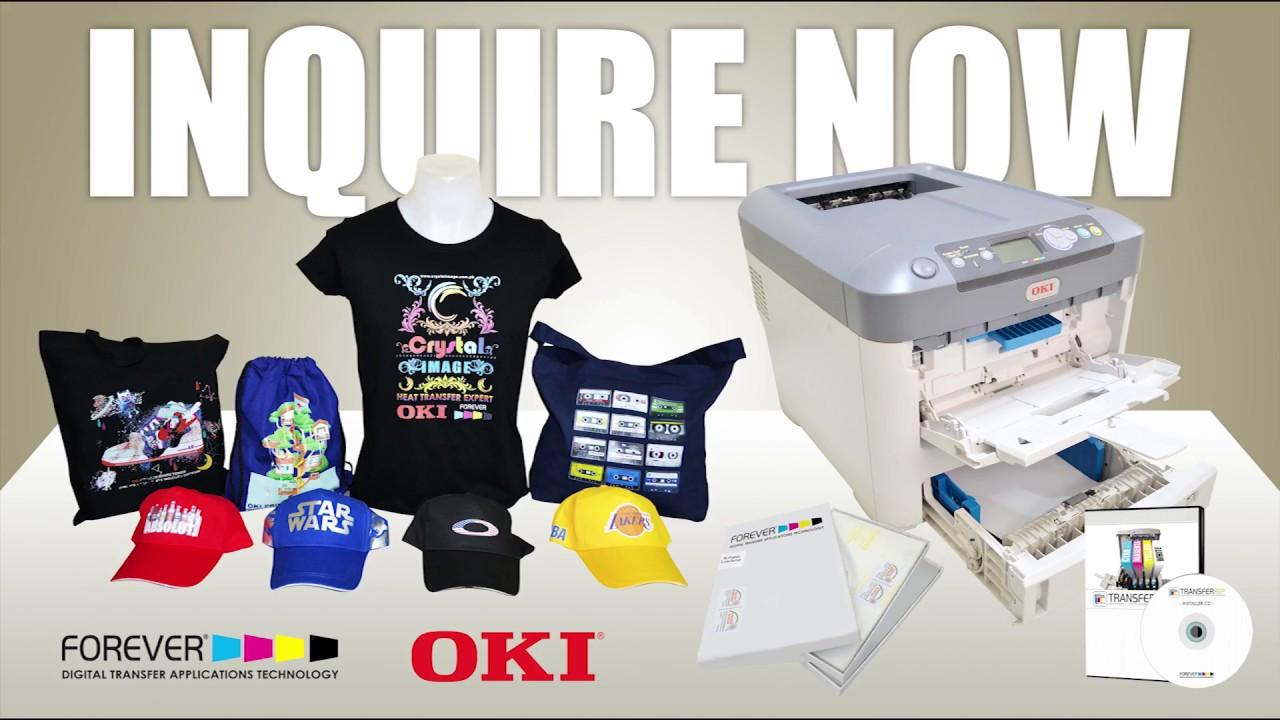 0b5b4686 OKI Pro 741WT Printer Product Overview - Laser Printing using OKI Pro  4711WT Printer