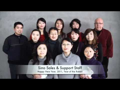 Sino Sales & Support Staff Group Video