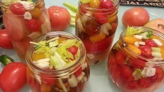 Квашеные помидоры без соли.