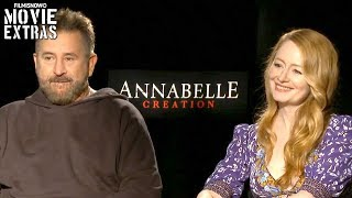 Annabelle: Creation (2017) Anthony LaPaglia & Miranda Otto talk about the movie