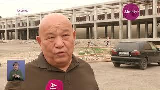 Начался принудительный снос рынка Mizam в Алматы (19.06.19)