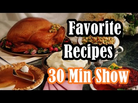 Traditional Thanksgiving Dinner Recipes: Turkey,  Stock, Sweet Potatoes,  Stuffing,  Pumpkin Pie