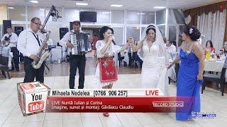 MIHAELA NEDELEA Muzica Lautareasca si Petrecere, Colaje SARBA LIVE Nunta Iulian si Corin ...