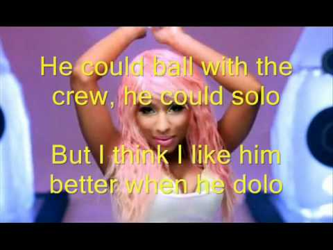 Super Bass With Lyrics - By Nicki Minaj ft Ester Dean