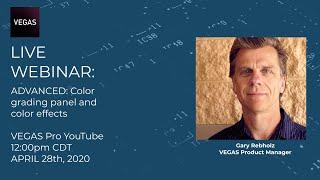 Color Grading Panel \u0026 Color Effects (ADVANCED) | LIVE Training for VEGAS Pro