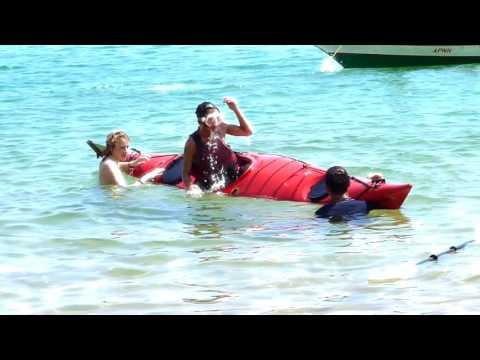 Learning to Sea Kayak in Carribean Venezuela
