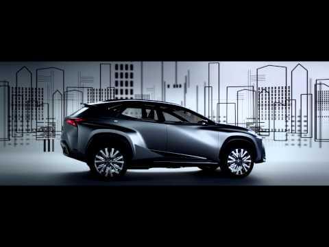 The Lexus LF-NX Reveal Film