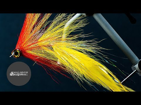 PEACOCK BASS FLY: Fly Tying Tutorial