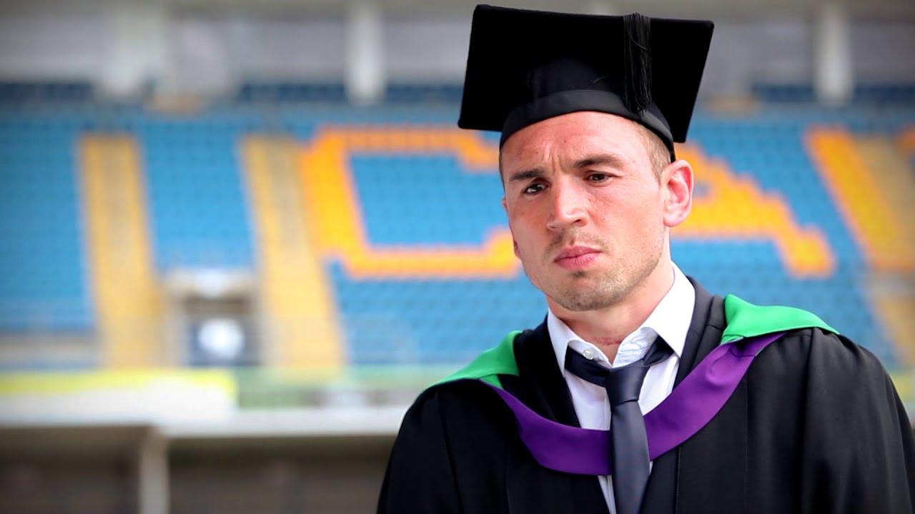 Kevin Sinfield Graduates From Leeds Beckett Youtube