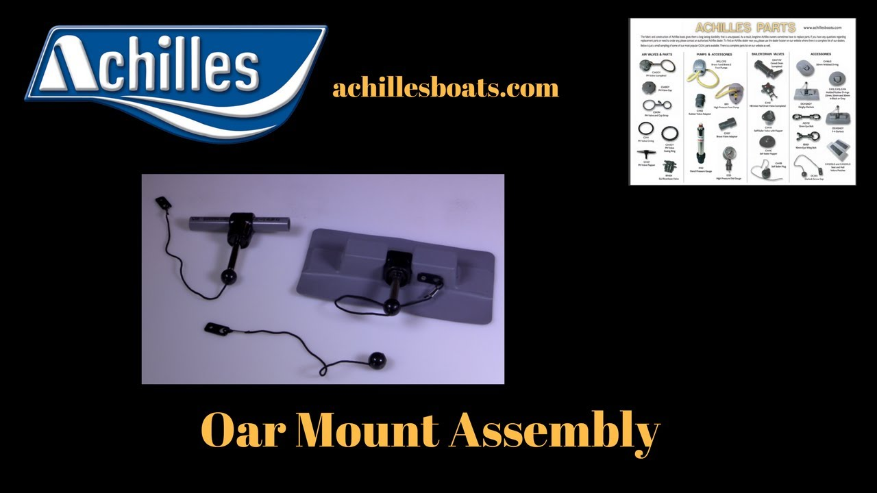 Achilles Inflatable Boats Oar Mount Assembly