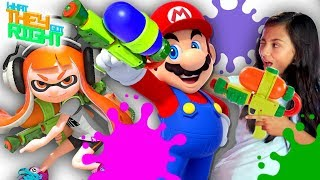 Splatoon Had Mario Characters?! | WHAT THEY GOT RIGHT