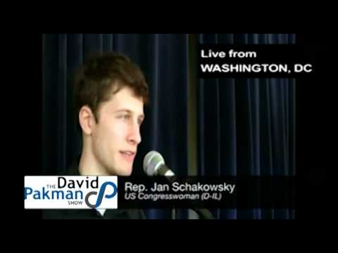 Obama Supporters Should Get Off Their Asses, Rep. Jan Schakowsky Classic Interview