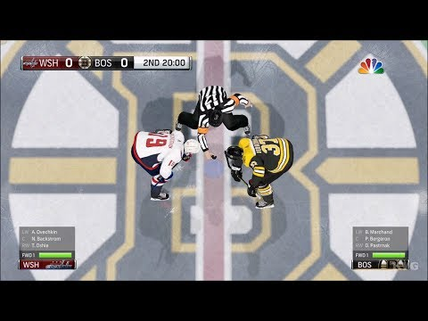 NHL 18 - Boston Bruins vs Washington Capitals - Gameplay (HD) [1080p60FPS]