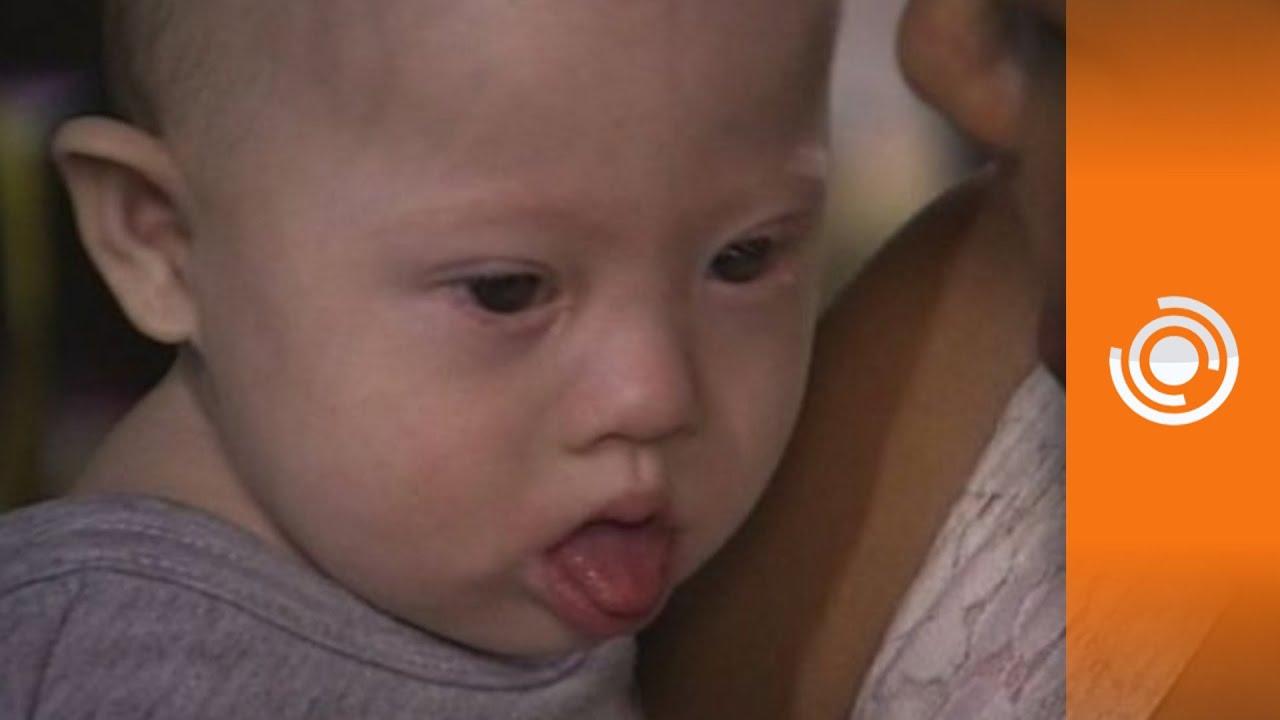 Abandonan a su bebe por nacer con sindrome de down youtube - Baneras con cambiador para bebes ...