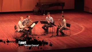 "Maxim Shalygin ""Insane dances"" [performed by Keuris Quartet]"