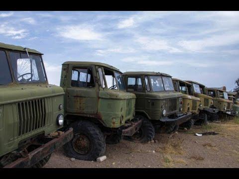ГАЗ-66 фургон из состава автоперевязочной станции АП-2 - YouTube