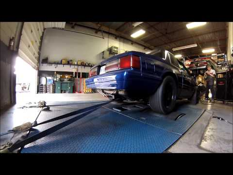 Mustang Fox body supercharged - L26 TV
