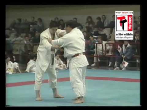 Sumio Endo - International Judo Meeting 1989