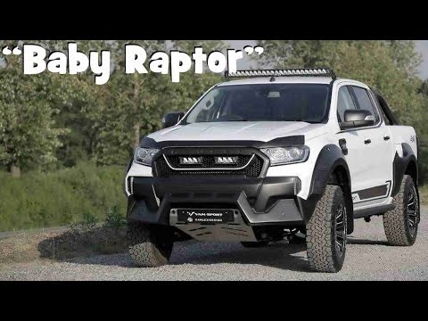 New Ford Ranger M-Sport Looks Like A Baby Raptor - YouTube