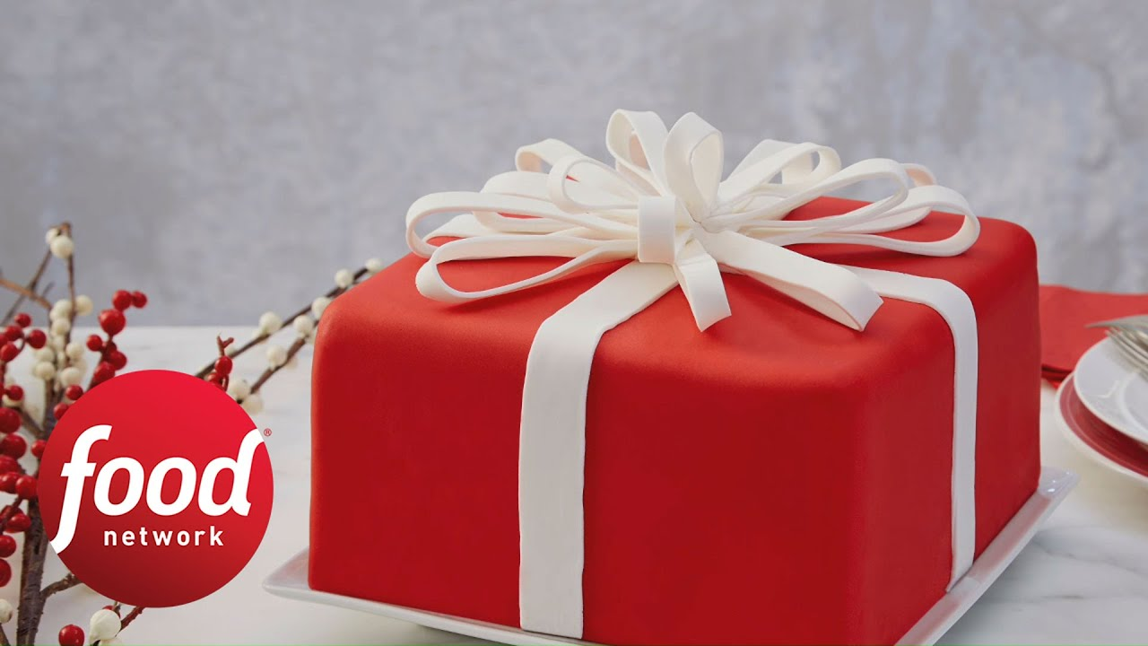 Take A Bow Cake Holiday Baking Championship Food Network