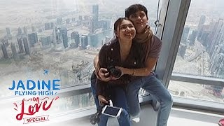 JaDine Flying High on Love: Burj Khalifa