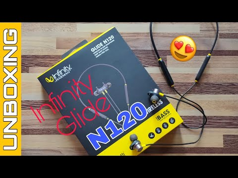 infinity-glide-n120-bluetooth-headphones-unboxing-&-overview