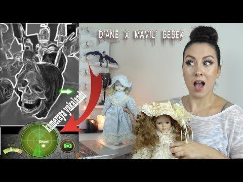 HANGİSİ DAHA LANETLİ? Diane mi Mavili Bebek mi? | 24 SAATLİK VİDEO KAYDI VE HAYALET SEANSI