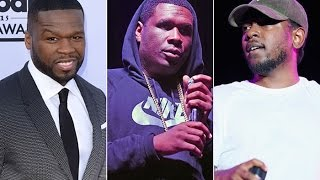 Jay Electronica Says He Will SLAP 50 Cent, Kendrick Lamar is his Son and Disses Action Bronson.