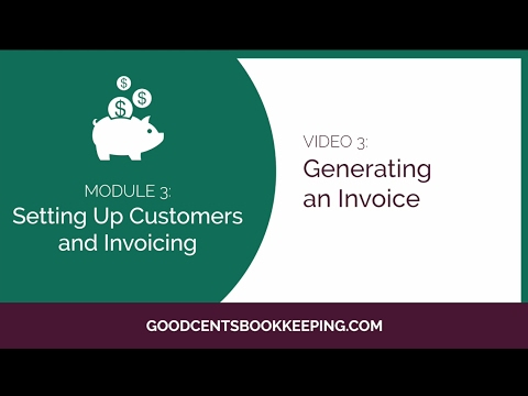How to Generate Invoices in Quickbooks Online 2017 - Free Quickbooks