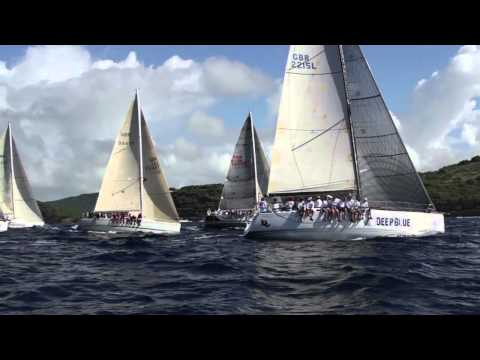 Antigua Sailing Week 2013 - The Yachting World Round Antigua Race