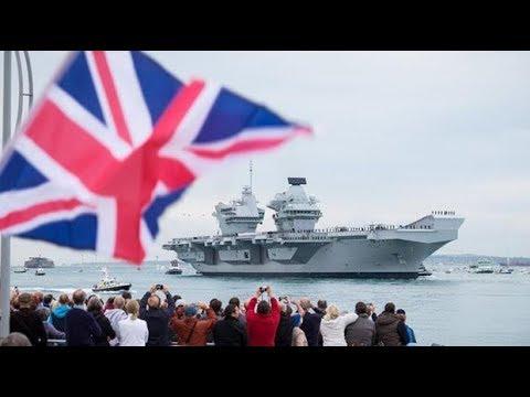 HMS Queen Elizabeth: Britain's post-Brexit ambassador to the world
