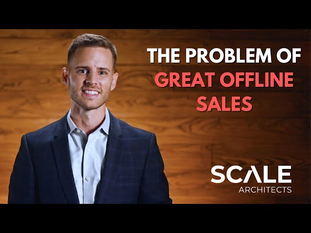 The problem of great offline sales