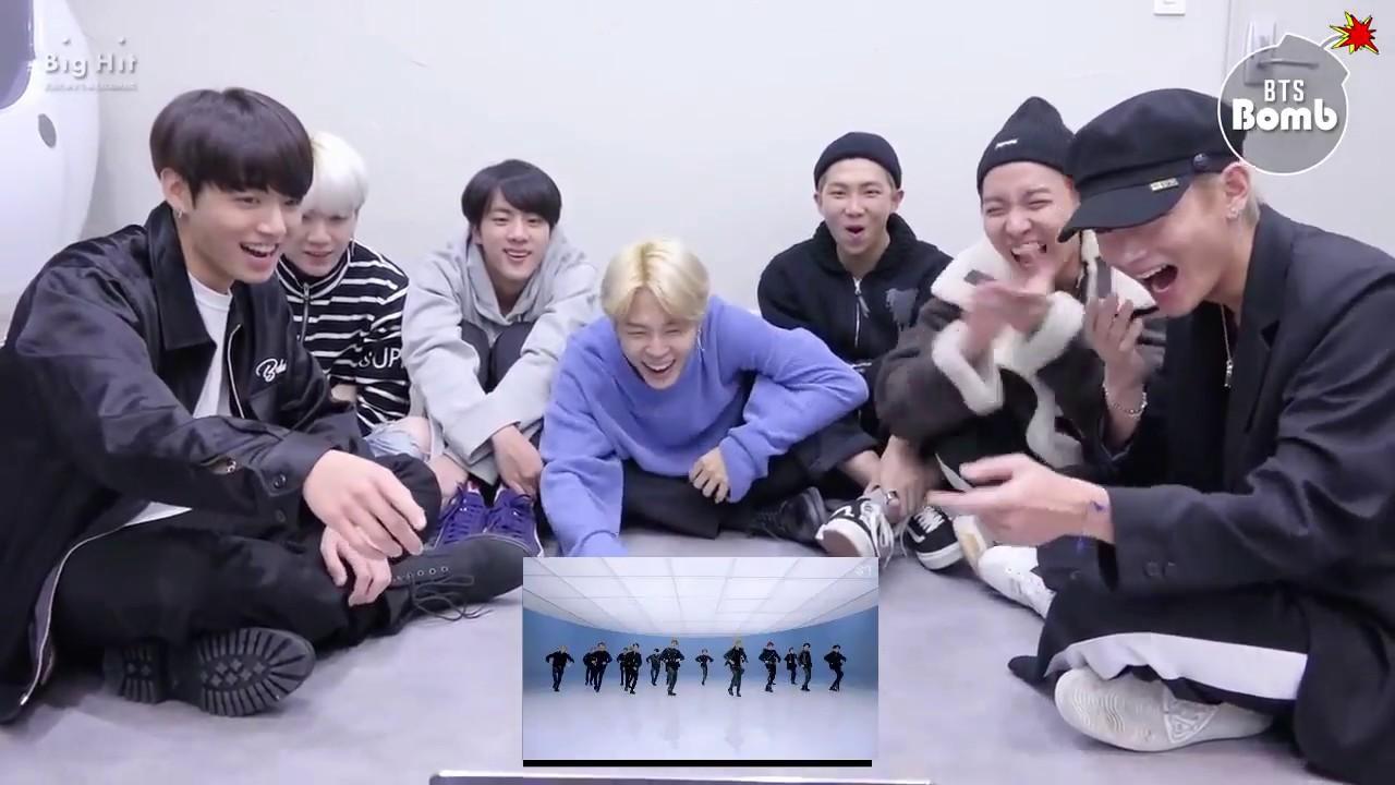 BTS reaction to nct2018 (Black on Black)
