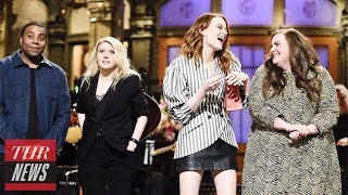 'SNL' Rewind: Emma Stone Hosts For Fourth Time, BTS Performs as Musical Guest | THR News