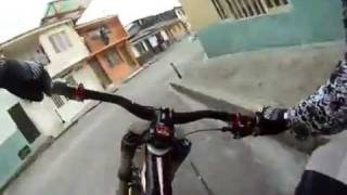 Extreme Urban Downhill Bicycle Race