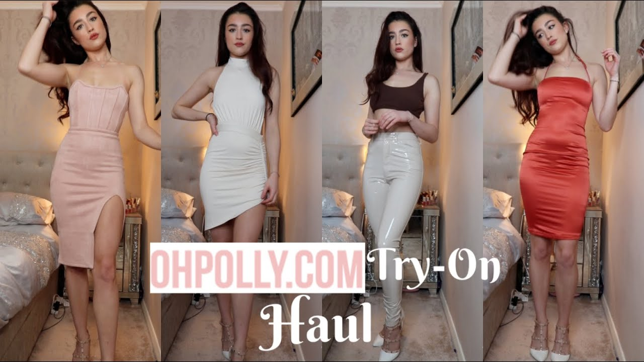 ffeac4b3 HUGE OH POLLY TRY-ON HAUL || JANUARY 2019 - YouTube