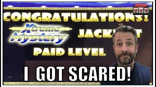 This win SCARED ME! Random Jackpot won on Timberwolf slot!