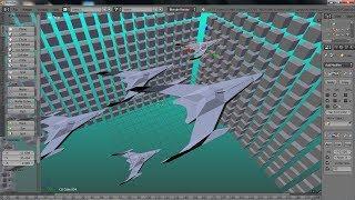 Membuat Objek Pesawat dengan aplikasi Blender