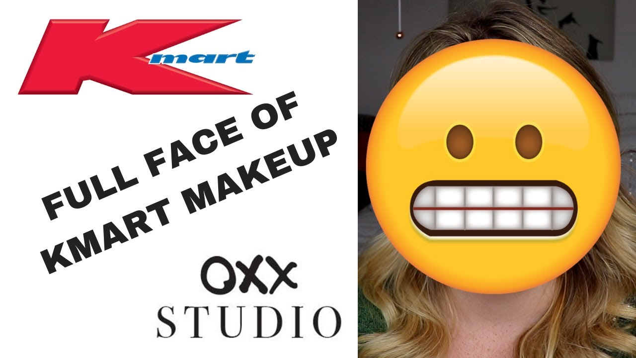 b0bb926472a FULL FACE OF KMART MAKEUP REVIEW || OXX Cosmetics - YouTube