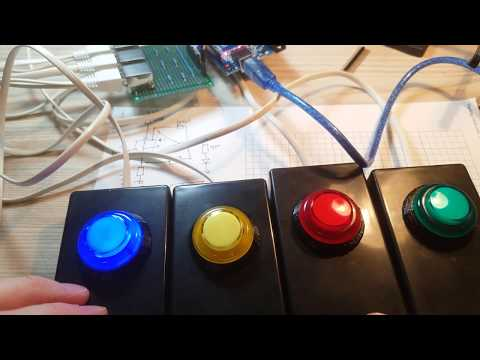 Making An Arduino Game Or Quiz Show Button System