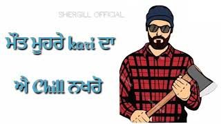 Gangster Jatt - Sidhu Moose Wala | whatsapp status video 2018