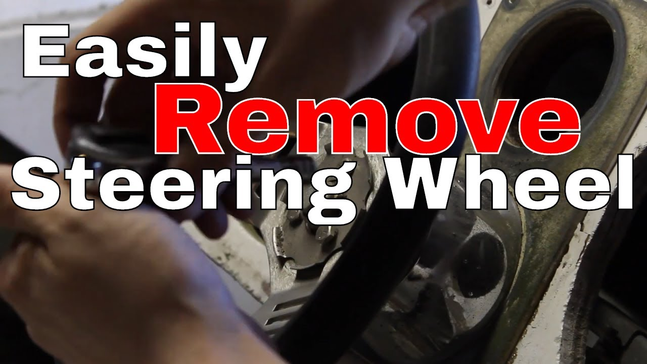 How To Remove A Boat Steering Wheel Youtube Sea Ark Wiring Diagram